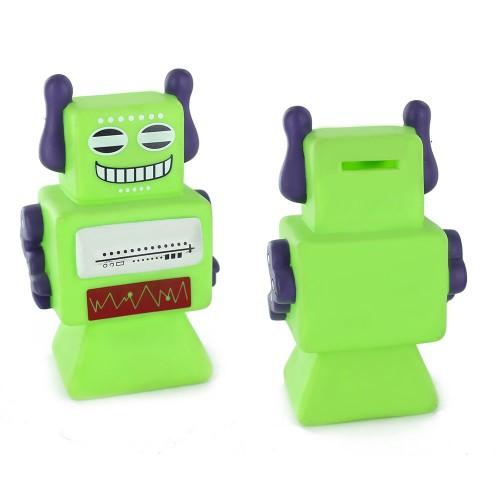 Alcancía Robots Verde